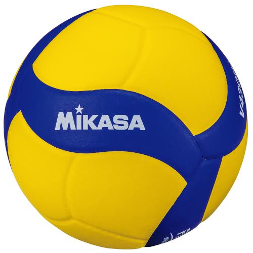 送料無料(※沖縄除く)[MIKASA]ミカサ鈴入りバレーボール4号(V430W-BL)2019年新デザイン