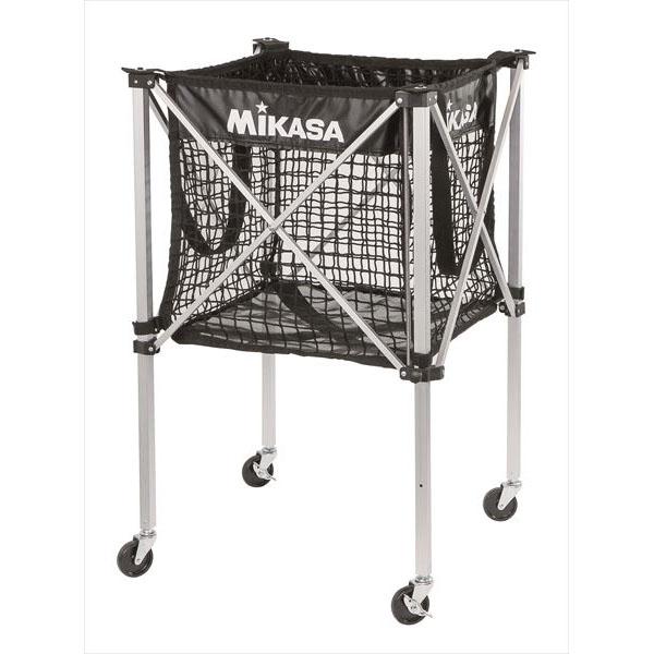 [MIKASA]ミカサメッシュボールカゴ(箱型)幕体・フレーム・キャリケースの3点セット(AC-BC100M-JP)