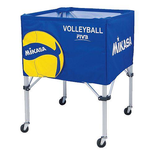 [MIKASA]ミカサボールカゴ3点セット サイズS(BC-SP-S)(VB2)V200Wバレーボール柄