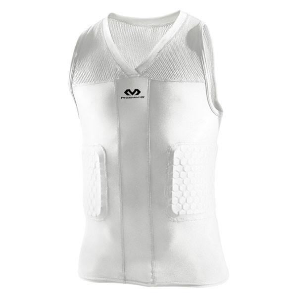 ボディケア アンダーシャツ 美品 返品交換不可 Mcdavid マクダビッドV-タンクホワイト WH M7962 低価格