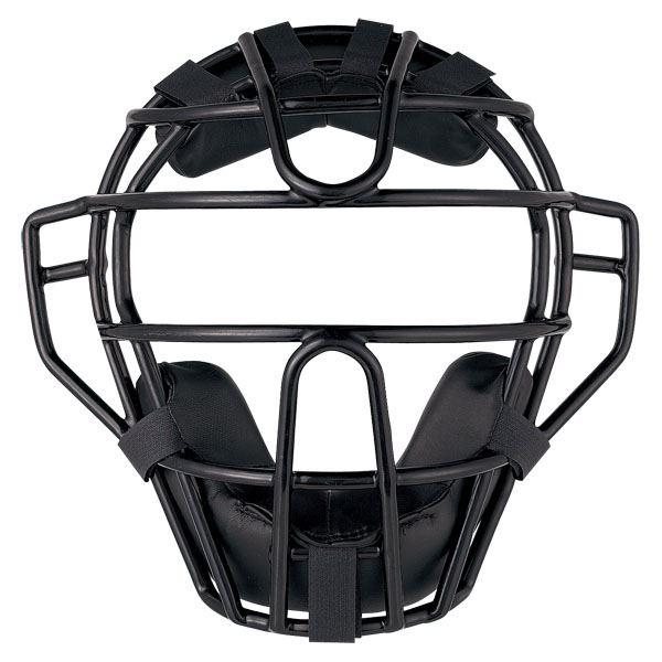 送料無料(※沖縄除く)[ZETT]ゼット野球硬式野球用マスク(SG基準対応)(BLM1240A)(1900)ブラック