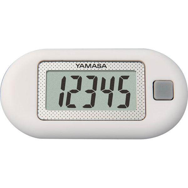 ウォーキング 健康管理に YAMASA 新作送料無料 ヤマサポケット万歩計 W ZEX150 らくらく万歩 SEAL限定商品 ホワイト