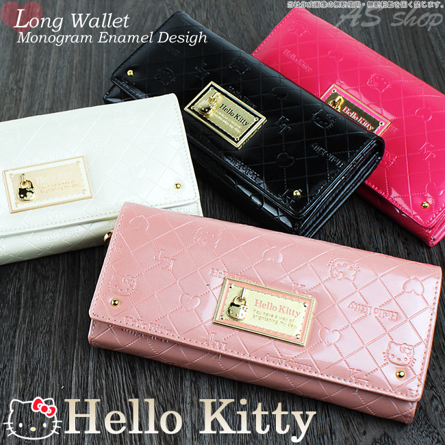 auc-asshop  Hello Kitty wallets purse Womens Monogram pattern or ... e66aa562f3