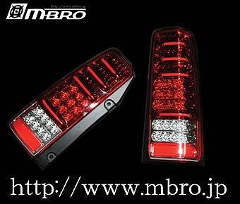 【送料無料】 ジムニー JB23W エムブロ LED(ウインカーもLED) テールランプ レッド JB23W