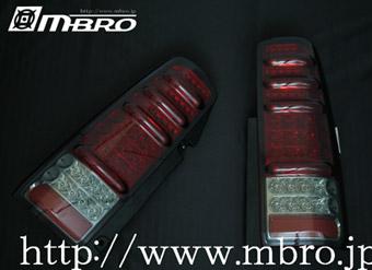 【送料無料】 ジムニー JB23W エムブロ LED(ウインカーもLED) テールランプ 赤スモーク JB23W