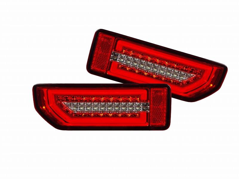 【送料無料】【即納】エムブロ ジムニー JB64W ジムニーシエラ JB74W LEDテールランプ 流れるウインカー レッドレンズ コーリン