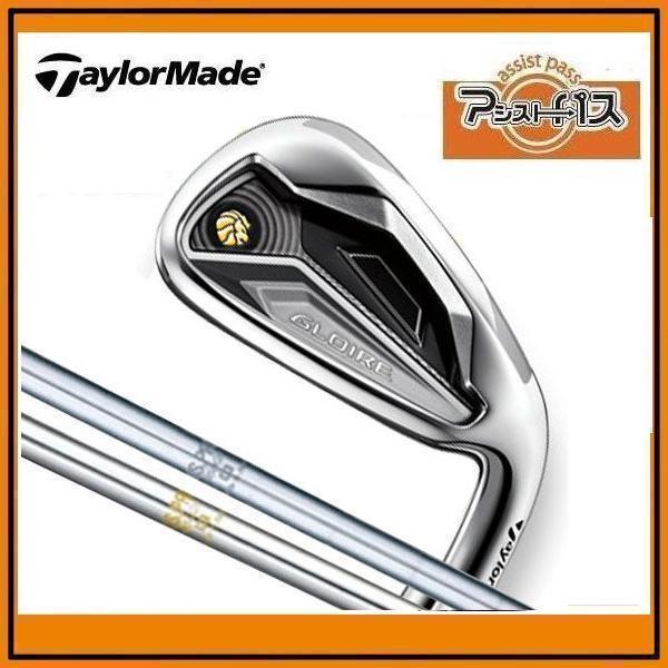 2012年モデル TaylorMade GLOIRE IRONS5本セット(♯6~PW) テーラーメイド グローレ アイアン5本セット N.S.PRO950GH/850GHスチール