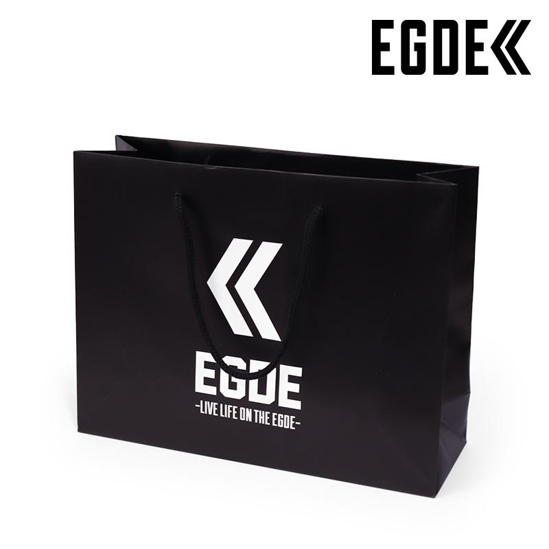 EGDE≪ ロゴ 紙袋 ショッパーバッグ 業界No.1 日本未発売