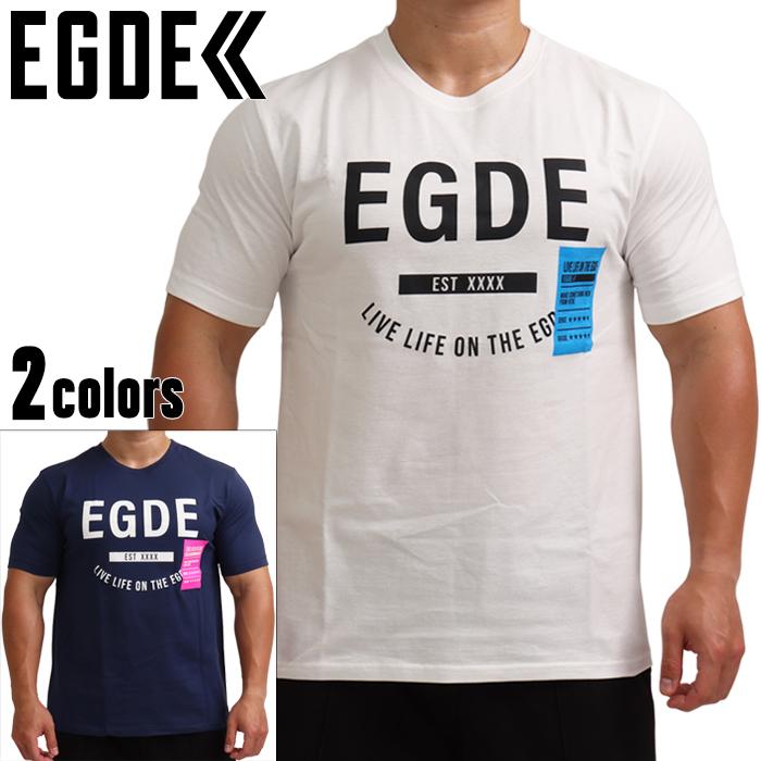 EGDE≪ 在庫限り NEON 春の新作シューズ満載 TAG Tシャツ ロゴ コットン