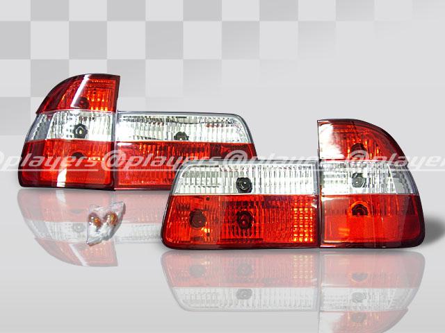 BMW 5シリーズ E39 前期 ツーリング 人気海外一番 新品 1台分 中古 ソナー テールレンズ SONAR クリスタル