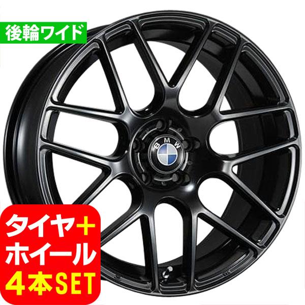 BMW 3シリーズ E90/E91/E92/E93 新品 ヴェナティッチ C-72M 19インチ FR タイヤホイール 225/35R19 265/30R19 BLK 4本セット