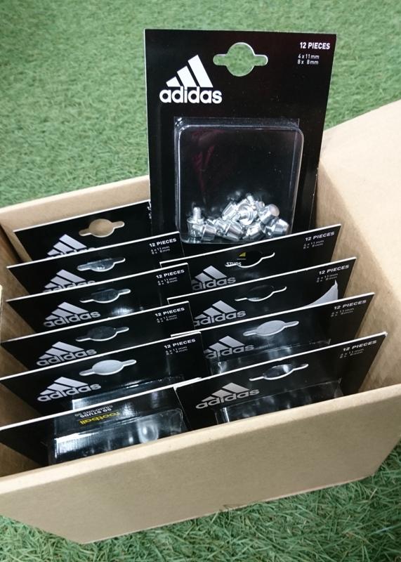 アディダス TRX 2.0 SG 8/8 BJM81 adidas アディダス専用 取替式 アクセサリー12個セット