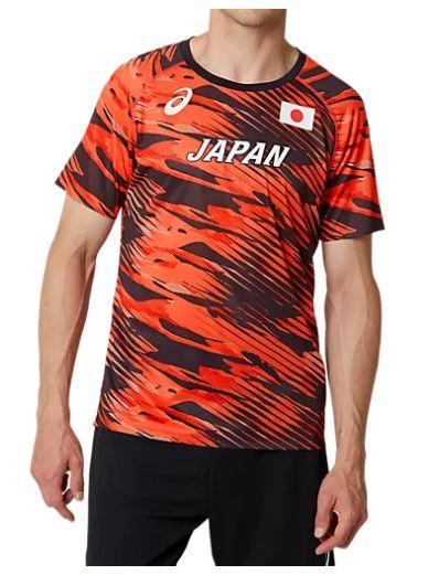 アシックス asics 陸上日本代表オーセンティックシャツ 2091A128-600