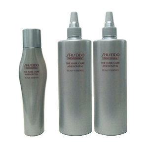 【お得セット♪/送料無料】shiseido 資生堂 ザヘアケア アデノバイタル スカルプエッセンスV(180ml)1本&詰替え(480ml)2本 合計3本セット 医薬部外品