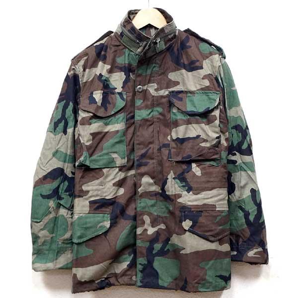 【送料無料】新品◆実物 米軍 M-65 フィールドジャケット ウッドランドカモ デッドストック♪ミリタリー アーミー アメリカ軍 放出品 迷彩