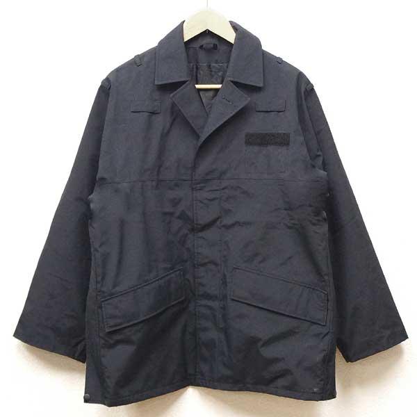 【中古】◆実物 スコットランド警察 ポリス ジャケット キルティング裏地付き ブラック♪ユーロ ミリタリー アーミー 軍物