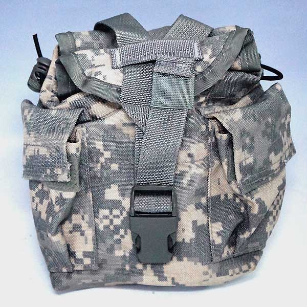 Us Army Surplus >> Auc Atuko501 Real Us Army Acu Digital Camo Canteen Pouch