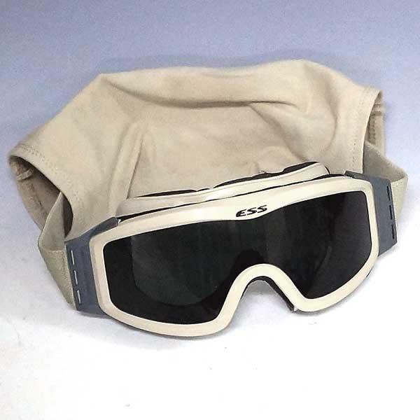 アメリカ海兵隊 航空隊 NATOで支給されている特別なゴーグル 中古 良好品 実物 情熱セール 売り込み 米軍 ESS バイカー スモークレンズ メガネ ゴーグル レンズ