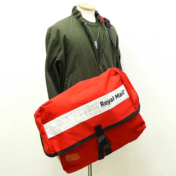 Used ◇ UK postal company Royal Mail   Royal Mail postal workers for large  nylon shoulder bag ♪ military released army of outdoor euro 8510da7b0b09e