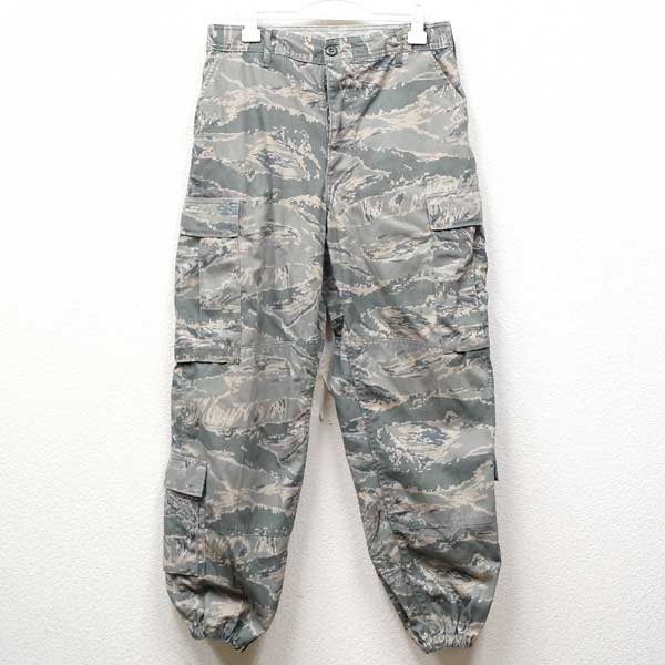 Good article ◆ real thing U S  air force ABU deciTal tiger duck hem rib  type cargo pant non lip place ♪ USAF military shorts camouflage US combat  U S