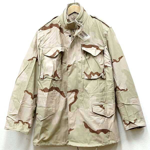 【送料無料】新品◆米軍 実物 M-65 フィールドジャケット 3Cカラーデザートカモ デッドストック♪戦闘服 野外用 アメリカ軍 アメリカン スナイパー ミリタリー