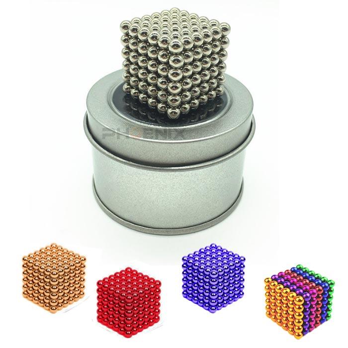 定形外送料無料 代引き不可 ポスト投函 税込み マグネットボール 5mm 216個 おもちゃ アウトレット 立体パズル 強力磁石 知育 D08 球型 5カラー 誕生日プレゼント