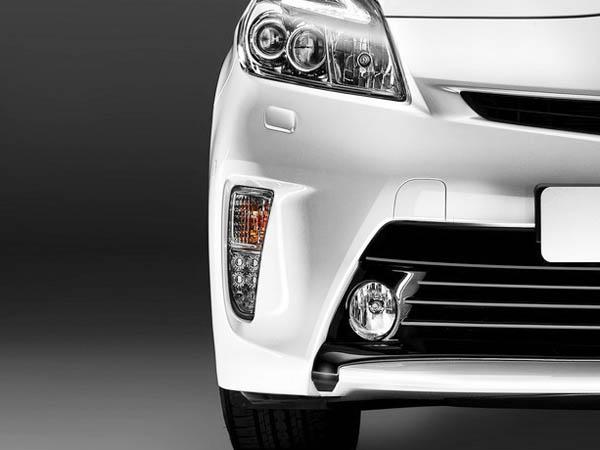 US仕様テール各種とあわせてコーディネートするのがオススメ 送料無料 USトヨタ純正タイプ Toyota ※アウトレット品 ディスカウント Prius LED Driving Lights プリウス DRL ZVW30 TOYOTA LED付 左右セット USDM 30系後期 北米