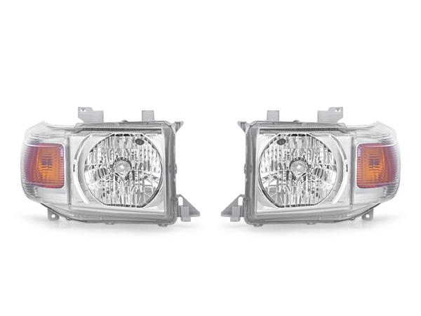 トヨタ ランドクルーザー 70系 純正タイプ ヘッドライト ランクル70 新品 左右セット