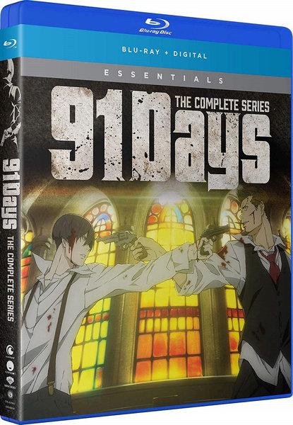 新品 91 Days Essentials 全13話 北米版 325分収録 記念日 BD 送料無料新品