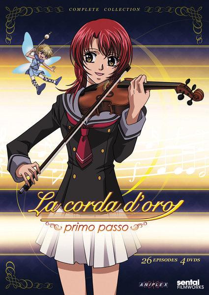 金色のコルダ primo passo DVD 全25話 650分収録 北米版