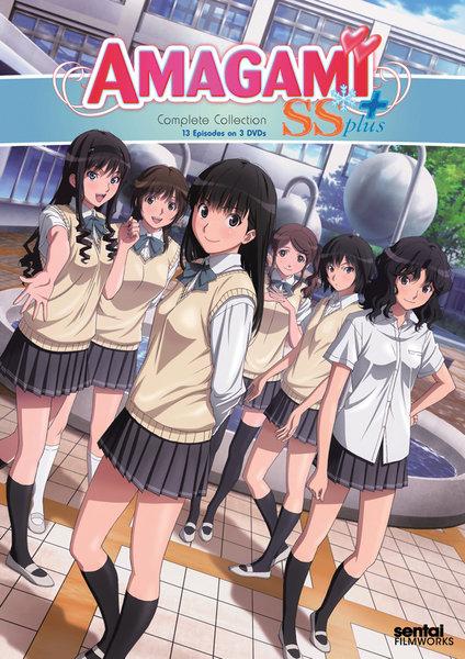 アマガミSS + plus DVD 01-13話 325分収録 北米版 - tobishima.hiroshima.jp