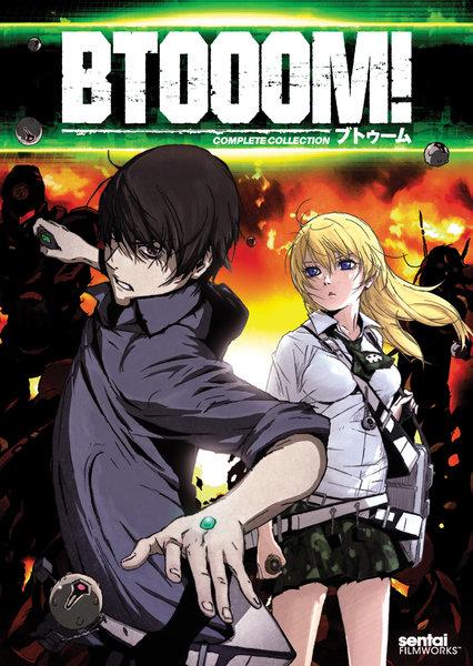 BTOOOM! DVD 全12話 300分収録 北米版