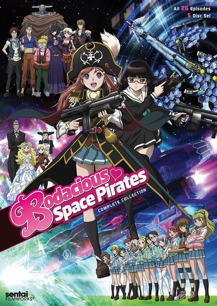 モーレツ宇宙海賊 DVD 全26話 650分収録 北米版