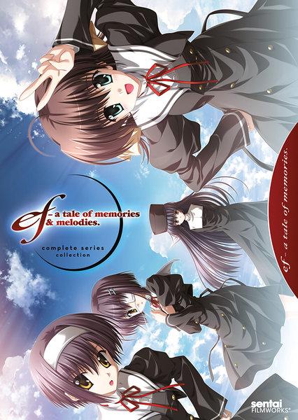 ef a tale of memories. 第1期&第2期 DVD 全24話 600分収録 北米版