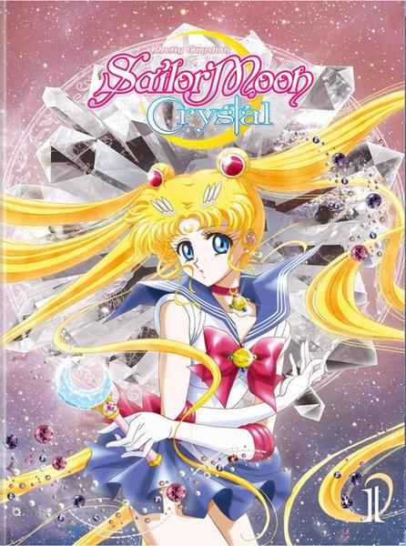 美少女戦士セーラームーンCrystal 1 DVD 01-14話 320分収録 北米版