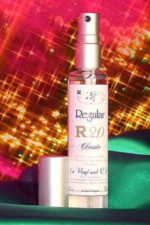 【新品】レコード・CDクリーナー液エルン冴 Regular R2.0/30ml
