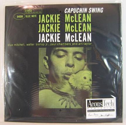 新品レコードJACKIE McLEAN  カプチン・スイング(2枚組)