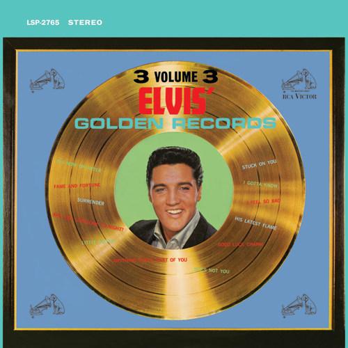 【新品レコード】180g,45回転,2枚組エルヴィス・プレスリ「ゴールデン・レコーズ VOL.3」