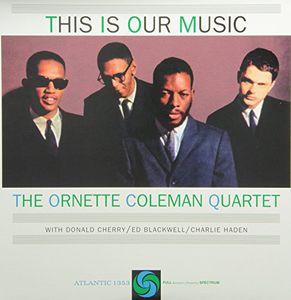 【新品レコード】180g,45回転,2枚組オーネット・コールマン「THIS IS OUR MUSIC」