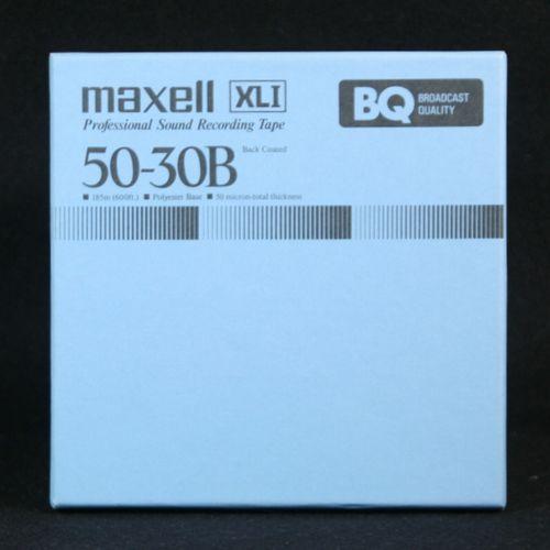 【中古】5号オープンリールテープmaxell/マクセル XLI50-30B (国産)