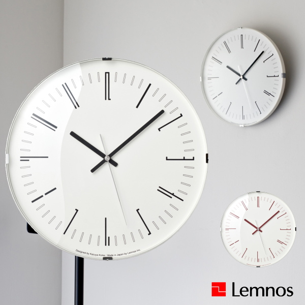 Lemnos タカタレムノス 壁掛け時計 KK18-12 Draw wall clock ドロー 電波時計 [時計 壁掛け 掛け時計 ウォールクロック おしゃれ デザイン 子供 ギフト 引っ越し 新生活 人気 結婚 祝い 送料無料] 10倍 プレゼント