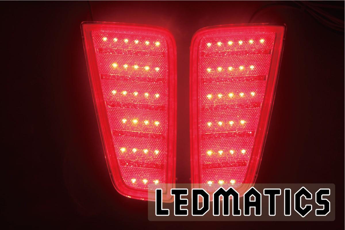 【LEDMATICS商品】130系 ヴィッツ Vitz 前期1型/中期2型 純正加工LEDリフレクター T6-54