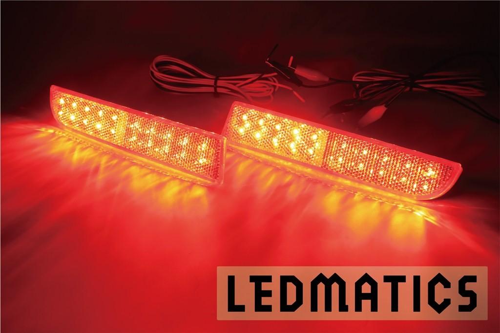 【LEDMATICS商品】CY4A ギャランフォルティス 純正加工LEDリフレクター MI3-40(AT)