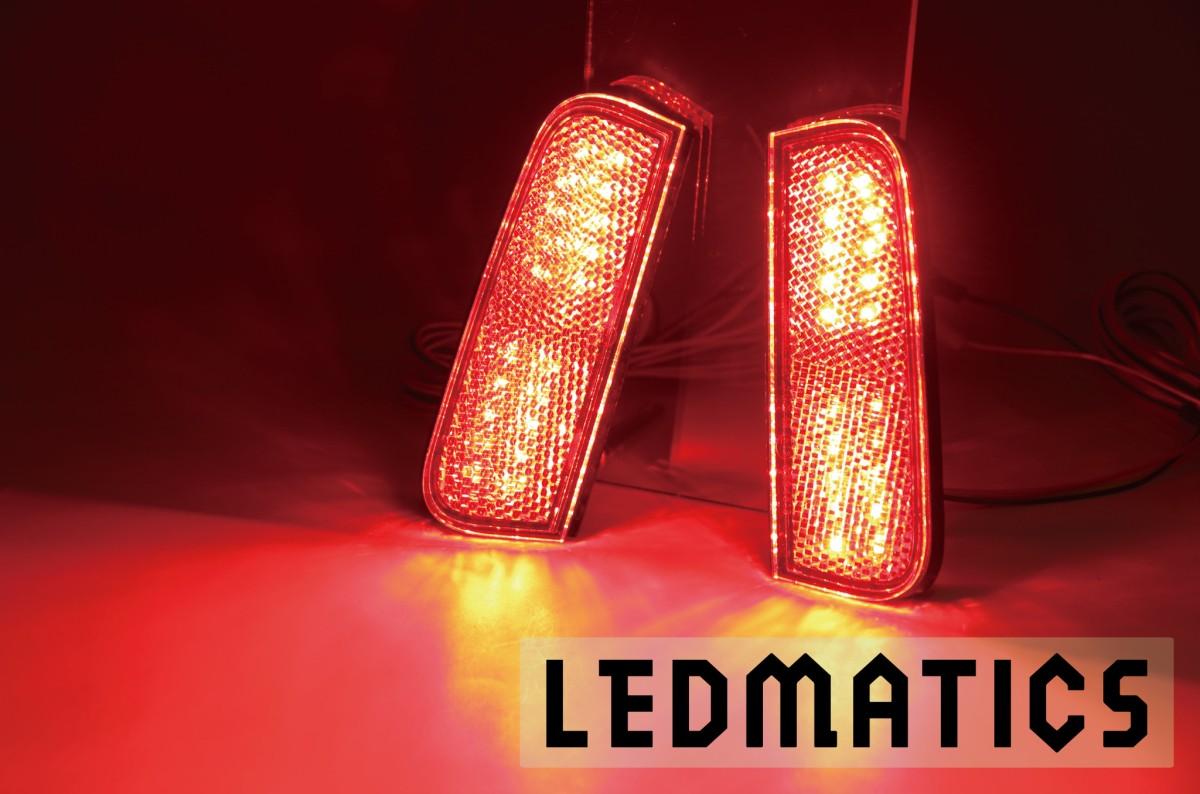 <title>アクシスパーツ安心の純正部品加工 LEDMATICS商品 130系 ヴィッツ Vitz 後期3型 純正加工LEDリフレクター 安心の定価販売 T22-40</title>