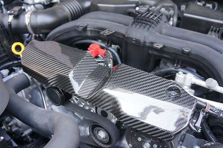 [GT-DRY]드라이 카본 제품! 스바루 레가시 아웃 백 임프레자 G4/스포츠 XV벨트 커버 1점 세트/rj102