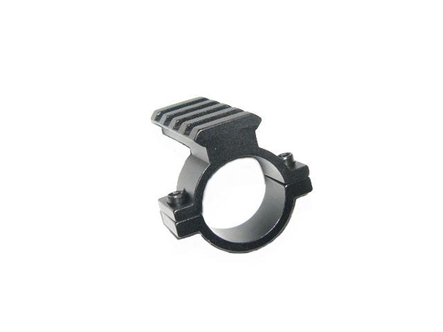 メーカー公式 直径25mmリング20mm拡張4スロットレイル付アダプター 新品 メーカー公式ショップ