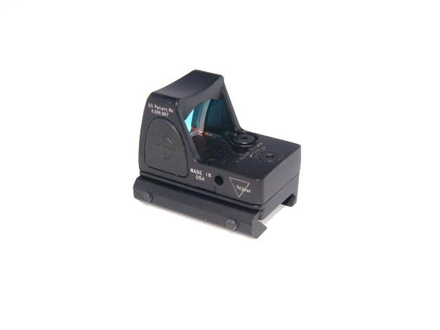 TrijiconRMR輝度調整型レッドドットオープンダットサイト黒 ブラック ドットサイト 新作 市販 人気 小型
