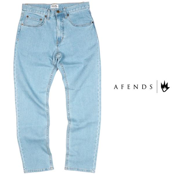 AFENDS/アフェンズ/M181450-191/ブルーデニム/メンズ/ストレッチ/ジーンズ/ジーパン/BLUE/【送料無料】【あす楽】