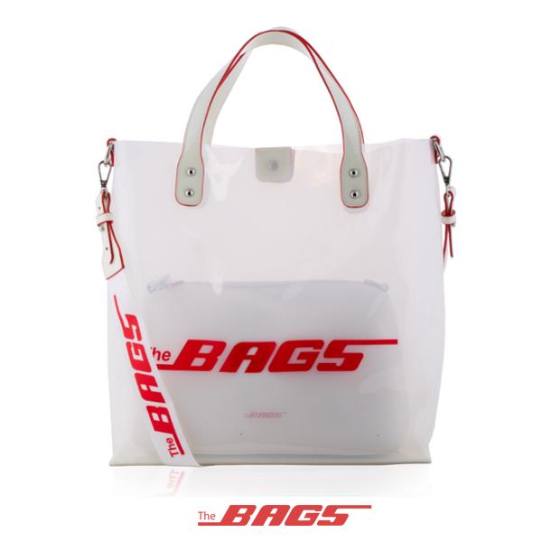 THE BAGS/ザ バッグス/SOHO PVC BAG/WHITE/ホワイト/トートバッグ/ショルダーバッグ/鞄/メンズ/レディース/2019年新作/