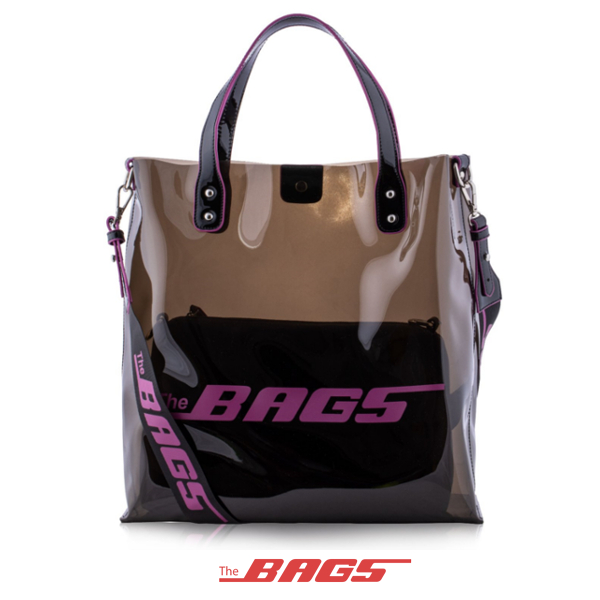 THE BAGS/ザ バッグス/SOHO PVC BAG/BLACK/ブラック/トートバッグ/ショルダーバッグ/鞄/メンズ/レディース/2019年新作/